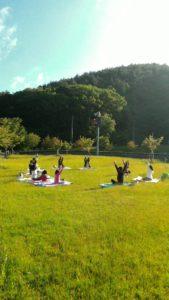 浅虫温泉×森林浴YOGA「南部屋 海扇閣」